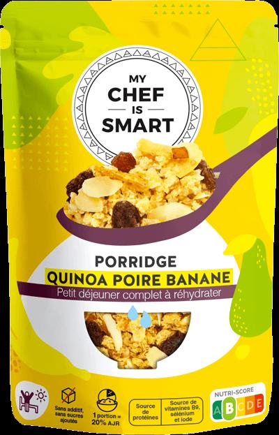 Porridge quinoa poire banane